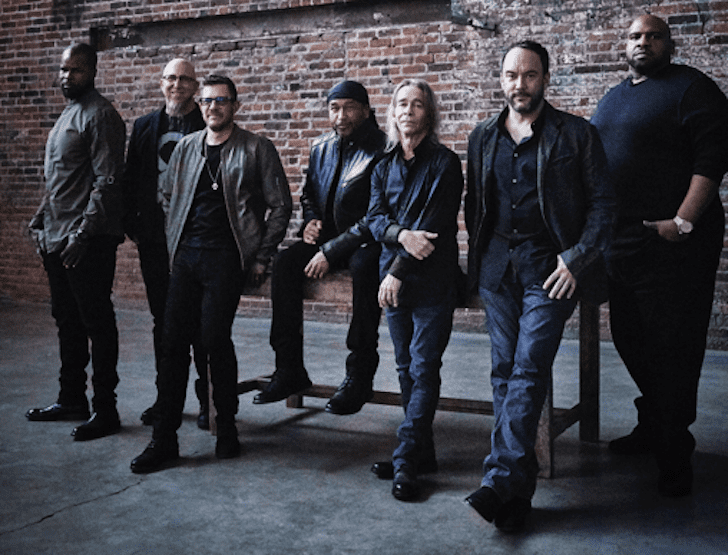 Dave Matthews Band Rock and Roll hall of Fame 2020 nominee